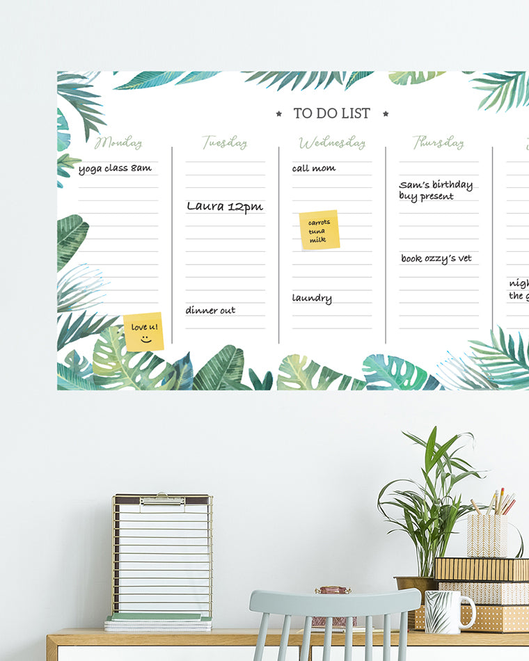 Dry Wipe Wall Planners