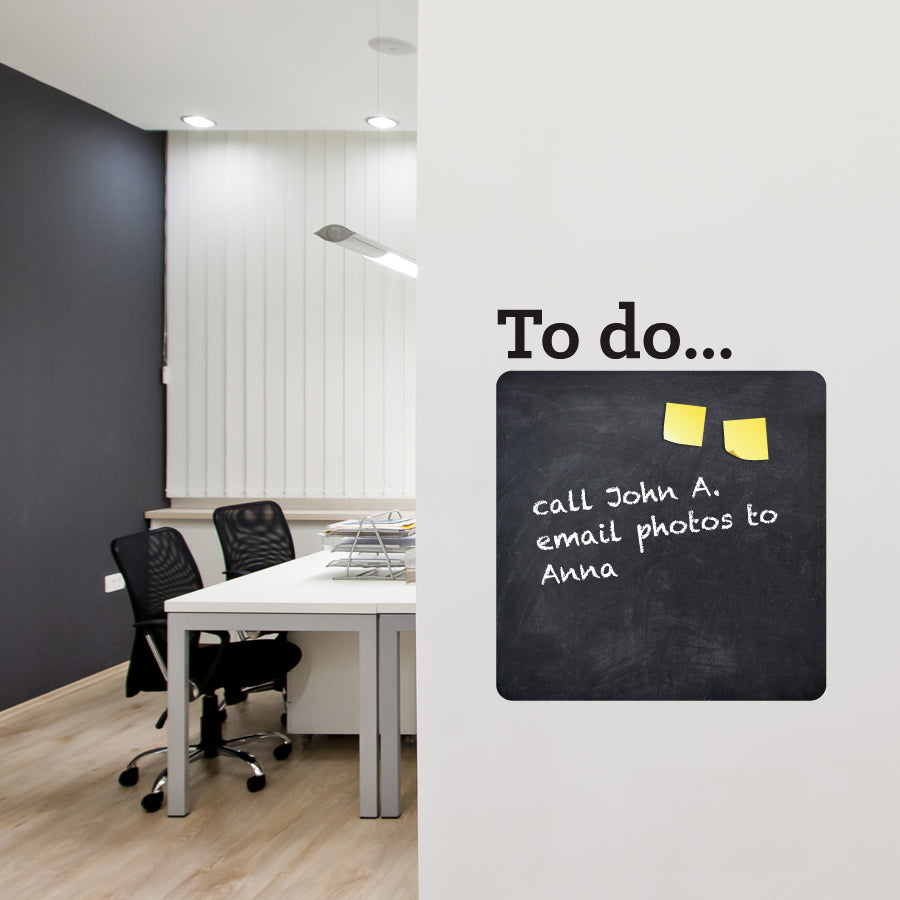 Chalkboard To Do Wall Planner
