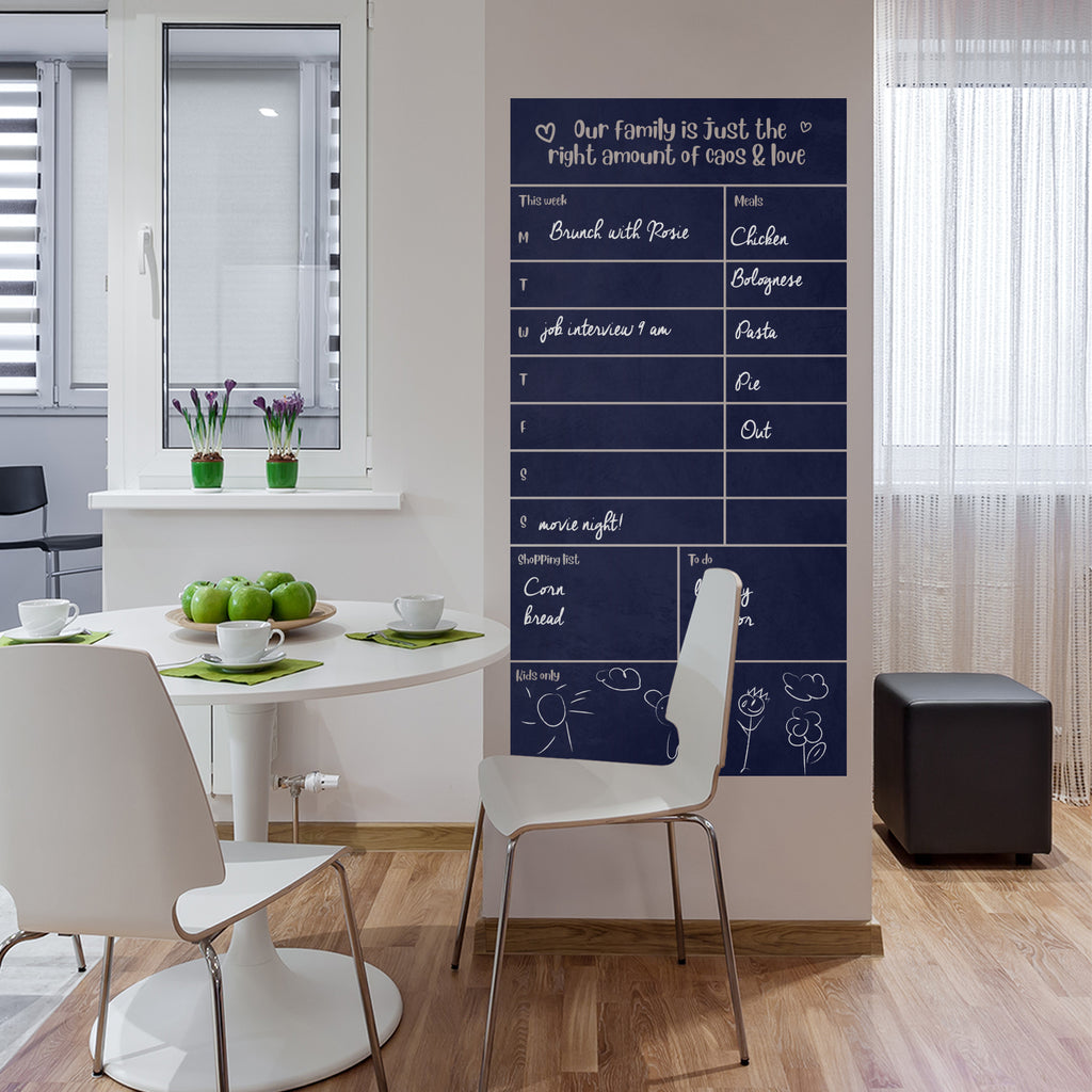 Family Weekly Wall Planner