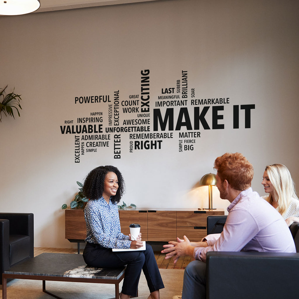 Make it Wall Decal - Office Wall Art