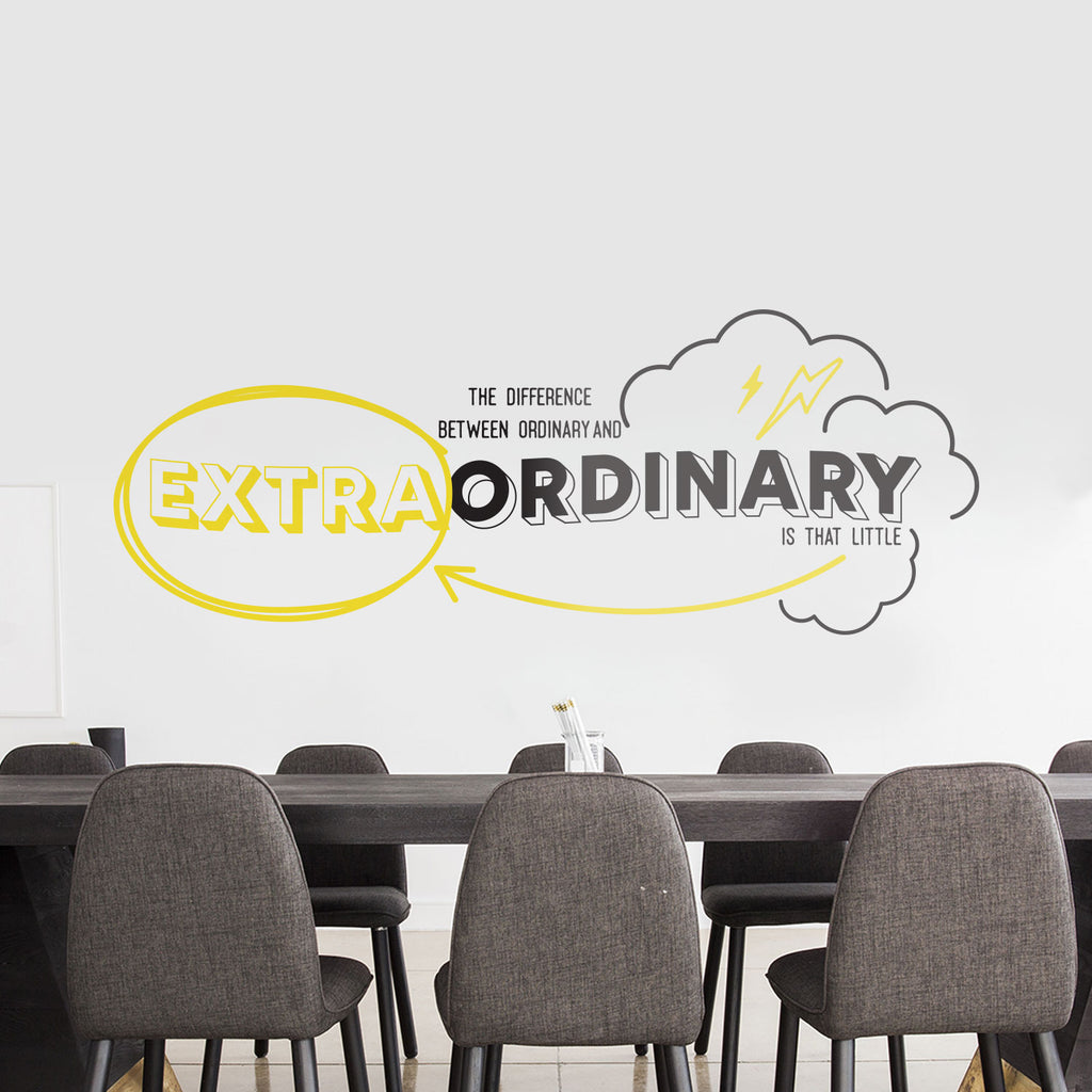 Extraordinary Office Wall Decal