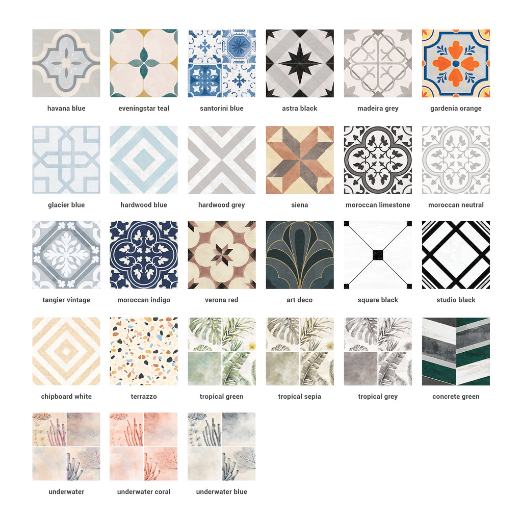 Tile Stickers SAMPLES