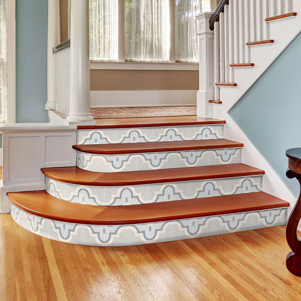 Havana Blue Stair Riser Stickers - PACK OF 6