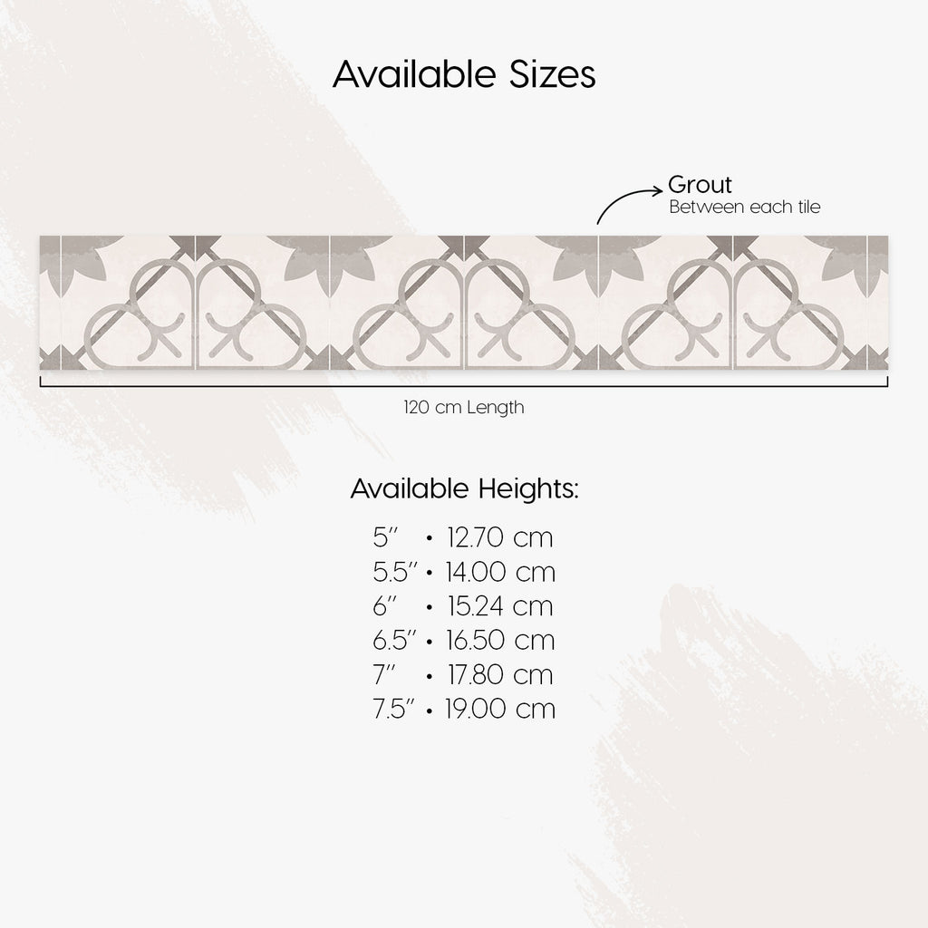 Madeira Grey Stair Riser Stickers - PACK OF 6