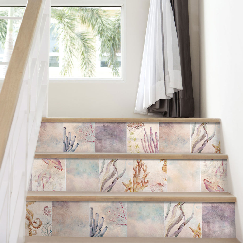 Underwater Stair Riser Stickers - PACK OF 6