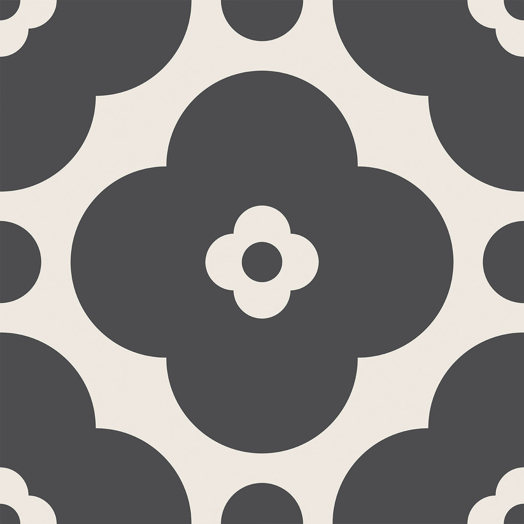 Greyscale Tile Decals Set - PACK OF 24