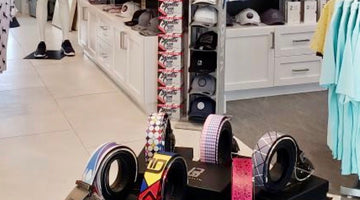 Colorful Buca Belts Are Now Available in the Clubhouse at Esplanade at Azario, Lakewood Ranch, Florida