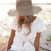 Women's T-Shirt -Calm your Palm | Branche Online Store | Melbourne