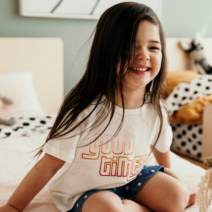 Girls T-Shirt - Good times | Branche Online Store | Melbourne