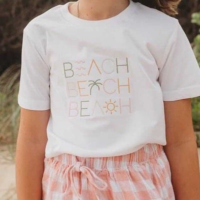 Women's T-shirt Beach - Branche Store