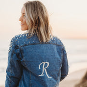 Monogram Womens Denim Jacket | Branche Online Store | Melbourne