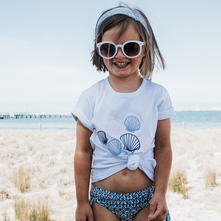 Girls T-Shirt - Clam Shells | Branche Online Store | Melbourne