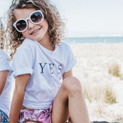 Girls T-Shirt - Yes Si Oui - Branche Store