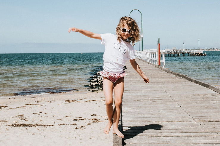 Girls T-Shirt - Yes Si Oui | Branche Online Store | Melbourne