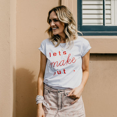 Women's T-Shirt - Let's Make Out | Branche Online Store | Melbourne