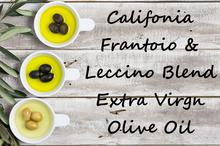 Extra Virgin Olive Oil - Californian Frantoio, Leccino Blend