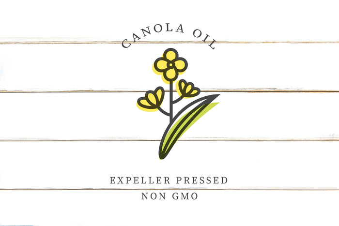 Canola Oil, Expeller Pressed, Certified and Non-GMO Project Verified
