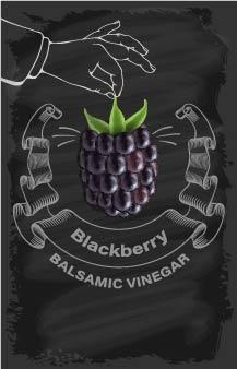 Balsamic Vinegar - Blackberry - Cibaria Store Supply