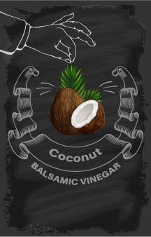 Balsamic Vinegar - Coconut - Cibaria Store Supply