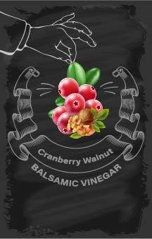 Balsamic Vinegar - Cranberry Walnut - Cibaria Store Supply