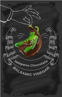 Balsamic Vinegar - Chocolate Jalapeno - Cibaria Store Supply