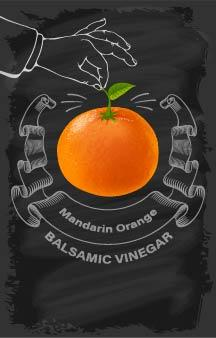 Balsamic Vinegar - Mandarin Orange - Cibaria Store Supply