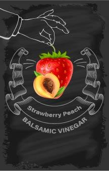 Balsamic Vinegar - Strawberry Peach - Cibaria Store Supply