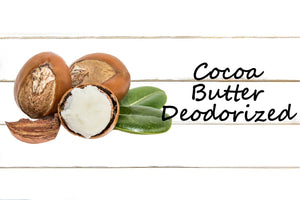 Cocoa Butter, Deodorized