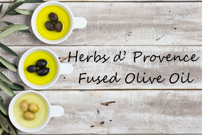 Fused Olive Oil - Herbs De Provence