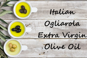 Italian Ogliarola Extra Virgin Olive Oil - Cibaria Store Supply