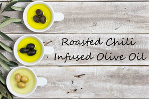 Infused Olive Oil - Roasted Chili - Cibaria Store Supply
