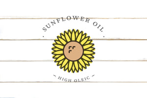 Sunflower Oil High Oleic Pressed, Certified and Non-GMO Project Verified