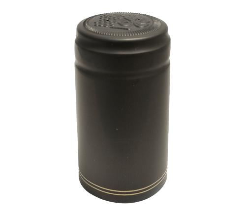 Security Seal - Black Capsule with Gold Stripes (60 Pack)