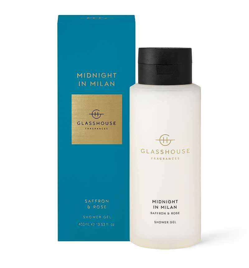 400ml MIDNIGHT IN MILAN Shower Gel