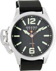 OOZOO STEEL WATCH BLACK