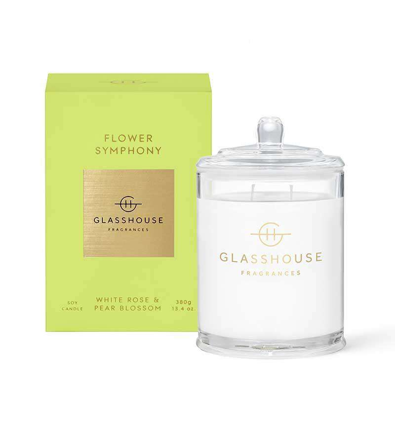 380g FLOWER SYMPHONY Candle