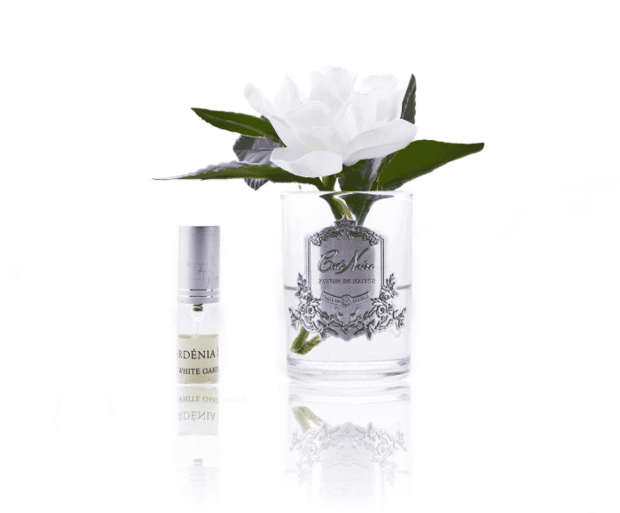 CÔTE NOIRE PERFUMED NATURAL TOUCH SINGLE GARDENIAS - CLEAR