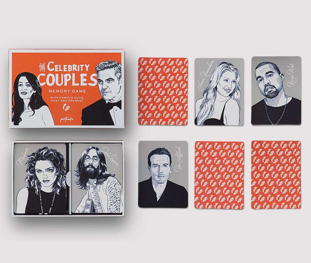CELEBRITY COUPLES GAME - RAPT ONLINE