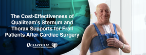 The Cost-Effectiveness of Qualiteam's Sternum and Thorax Supports for Frail Patients After Cardiac Surgery