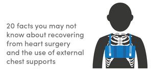 20 facts you may not know about recovering from heart surgery and the use of external chest supports
