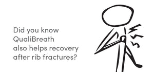 Did you know QualiBreath also helps recovery after rib fractures ?