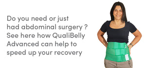 Do you need or just had abdominal surgery ? See here how QualiBelly Advanced can help to speed up your recovery