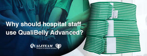 Why should hospital staff use QualiBelly Advanced?