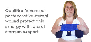 QualiBra Advanced - Postoperative sternal wound protection in synergy with lateral sternum support