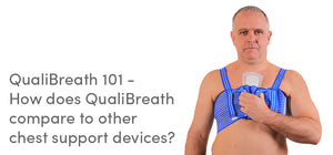 QualiBreath 101 - How does QualiBreath compare to other chest support devices?