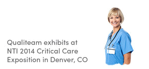 Qualiteam exhibits at NTI 2014 Critical Care Exposition in Denver, CO