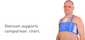 QualiBreath sternum and thorax support compared to other devices