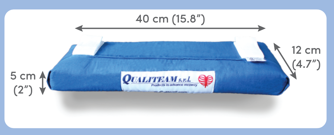 Qualipad seatbelt pad protection pillow sizes