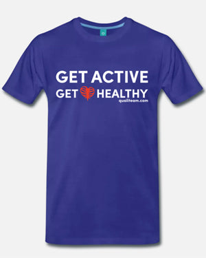 """Get Active Get Healthy"" T-Shirt"