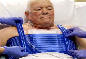 QualiBreath Sternum and thorax support -  Pain relief after heart surgery